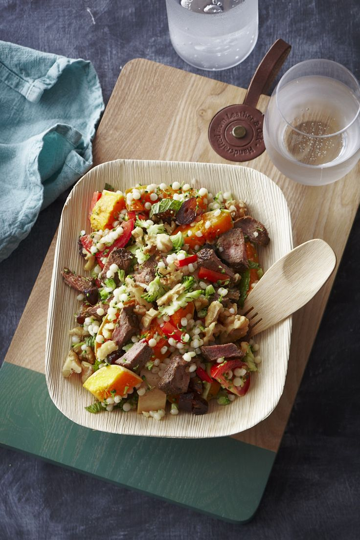 Nadia Lim shares her recipe for a delicious lamb couscous salad that is perfect for using up leftovers.