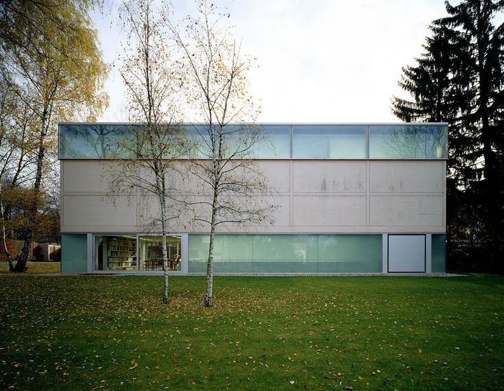 Herzog De Meuron -  Goetz Gallery, Munich 1992. Photos (C) Margherita Spiluttini.
