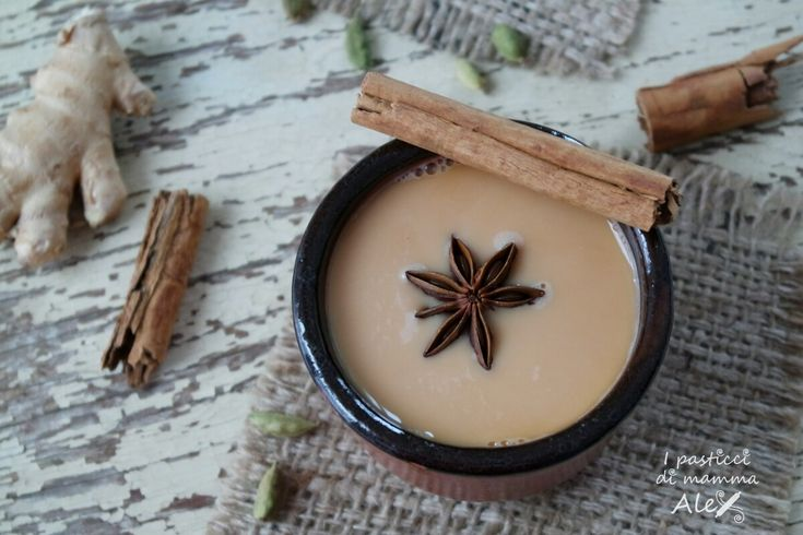 Latte Chai alla mandorla