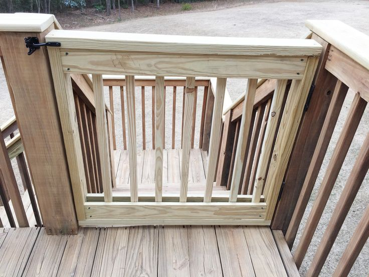 25 best ideas about deck gate on pinterest diy gate. Black Bedroom Furniture Sets. Home Design Ideas
