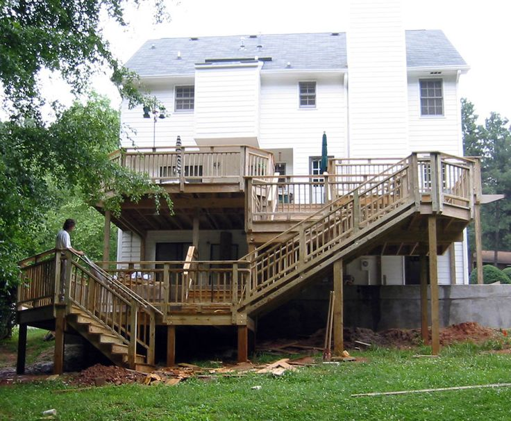 125 best multi level decks images on Pinterest Gardens Barbecue