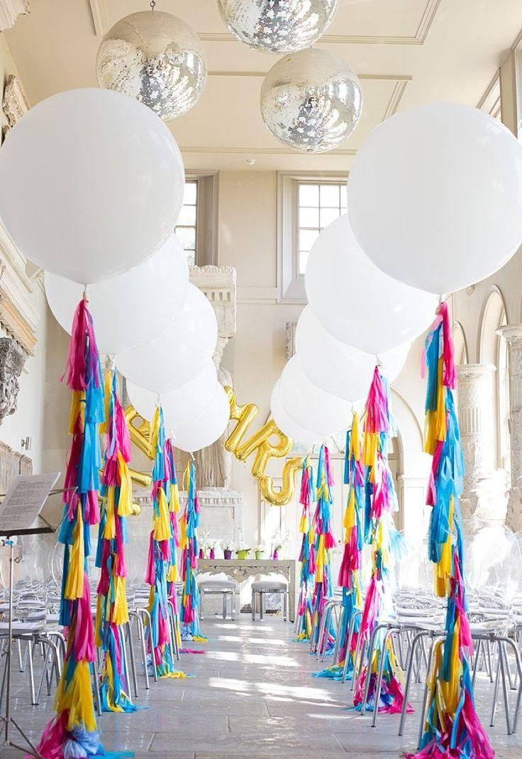 Best 25 wedding balloon decorations ideas on pinterest for Ballon wedding decoration