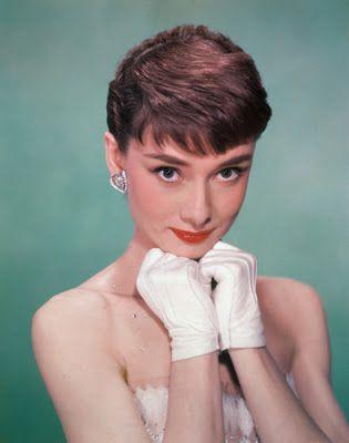 "Vintage Glamour Girls: Audrey Hepburn in "" Sabrina """