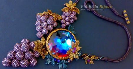 Più Bella Bijoux  beadwork by Maria Teresa