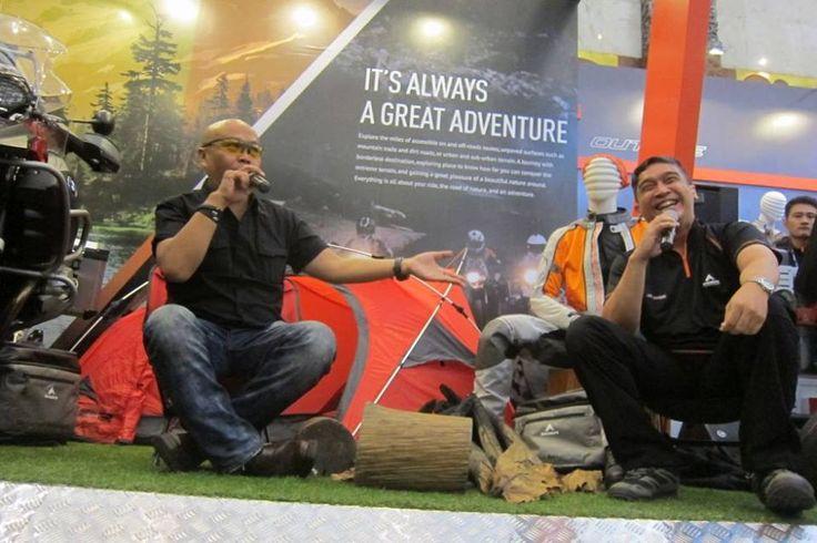 With kang Joe, biker celebrity and popular MC.....