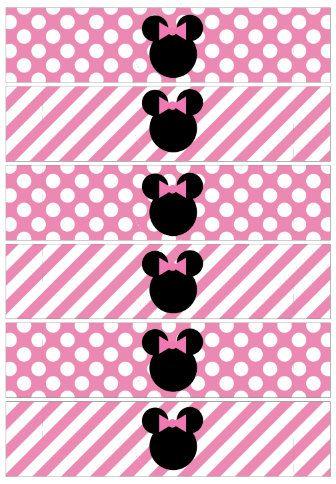 Minnie Mouse Zebra o Cebra. | Ideas y material gratis para fiestas y celebraciones Oh My Fiesta!