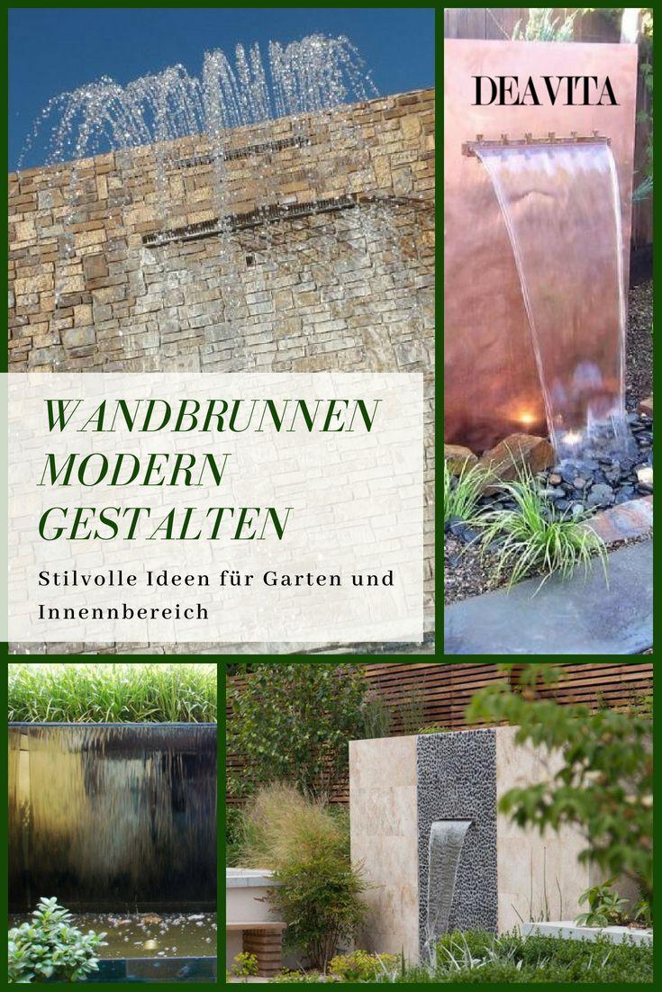 Beeindruckend Wandbrunnen Modern Sammlung Von Wenn Sie Gerne In Entspannung Schwelgen, Können