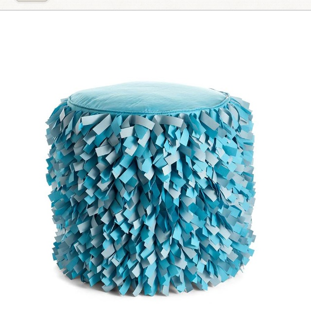 Awesome Foot Stool Coral Teal Pinterest Foot