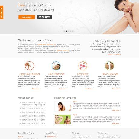 Doctors Website Design