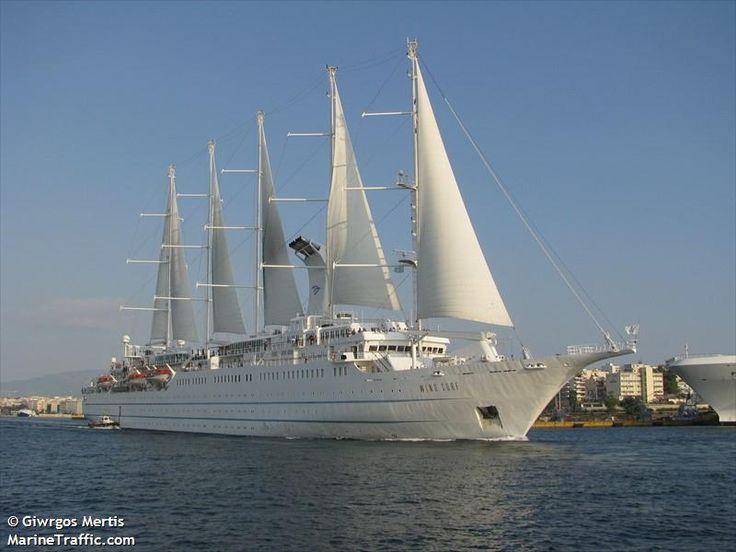 Το Wind Surf αποπλέει από τον Πειραιά. 13/10/2014.