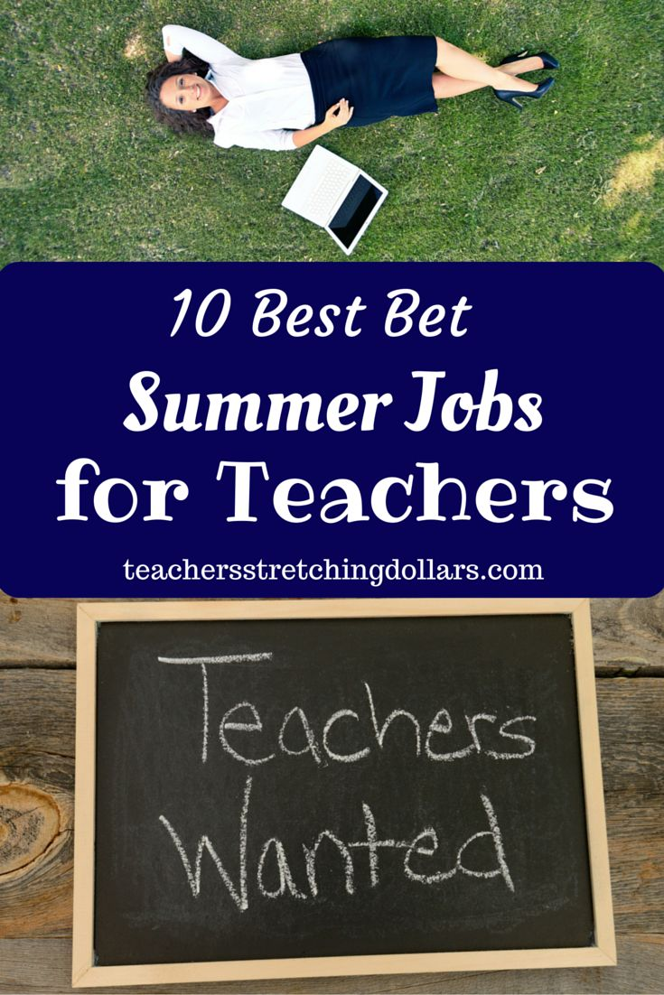 We've rounded up the 10 Best Bet Summer Jobs for Teachers just for you!  Take a look now.  And...for more teacher freebies, discounts, deals, and much, much more check out www.teachersstretchingdollars.com