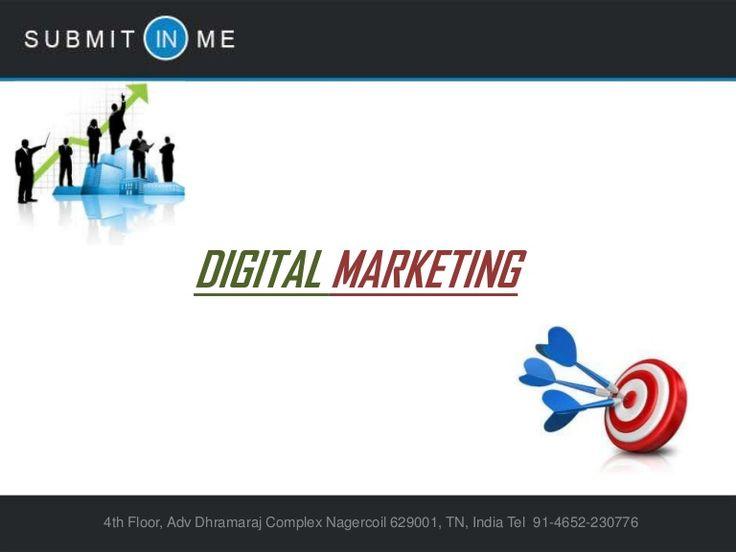 digital-marketing-27920432 by Preethi VG via Slideshare