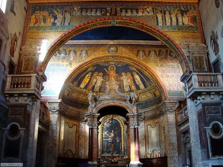 Basilica di Santa Prassede - Roma, Italia