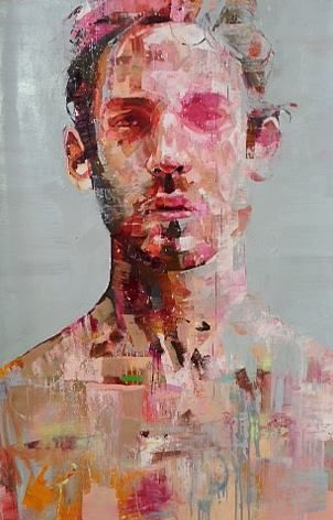 "Andrew Salgado Portraits   Andrew Salgado – ""Decade"" Oil on canvas 135 x 95 – 2013"