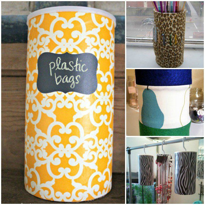 14 Cool Things to Do with Oatmeal Canisters - One Crazy House