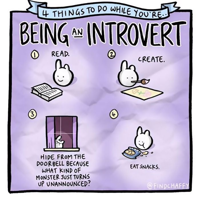 Best Introvert Meme Ideas On Pinterest Social Anxiety Memes - Hilarious comics that every introvert will understand
