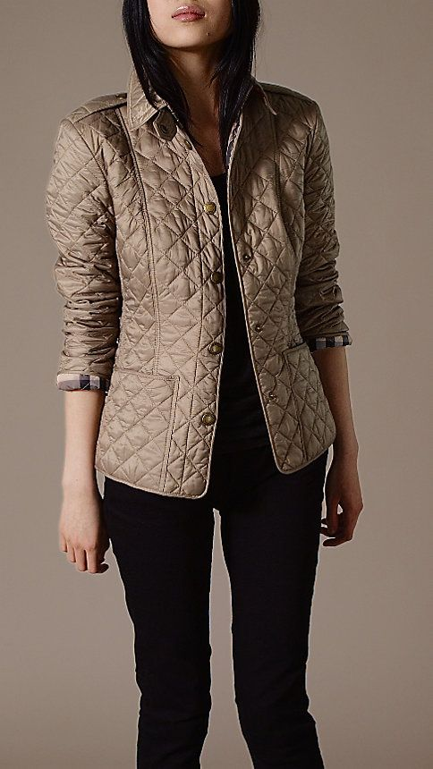 Chaqueta acolchada mujer burberry