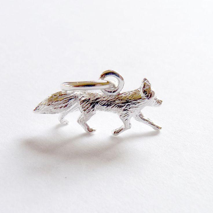 Fox Charm from Joy Everley Fine Jewellers, London #SterlingSilver #Fox