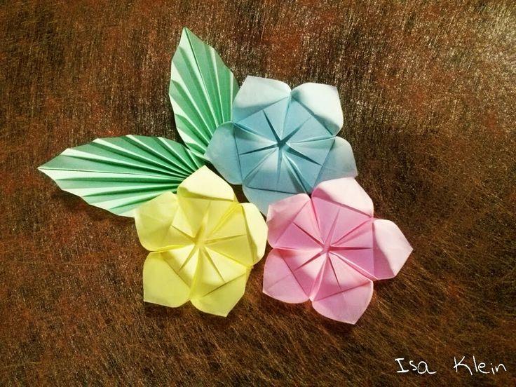 14 best isa klein youtube images on pinterest origami flowers flor helena helena flower mightylinksfo