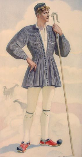 NICOLAS SPERLING #19a - Villager's Costume (Central Greece)