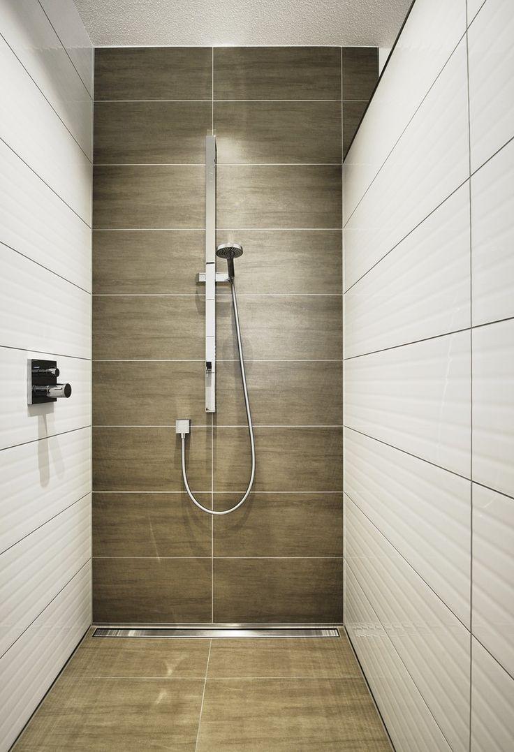 bodenebene Dusche, gefließt #bathroom #Badezimmer #wohlfühloase