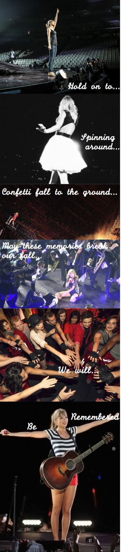 I love this! And may I just say that Long Live is one of my favorite songs. Long live the Red tour!