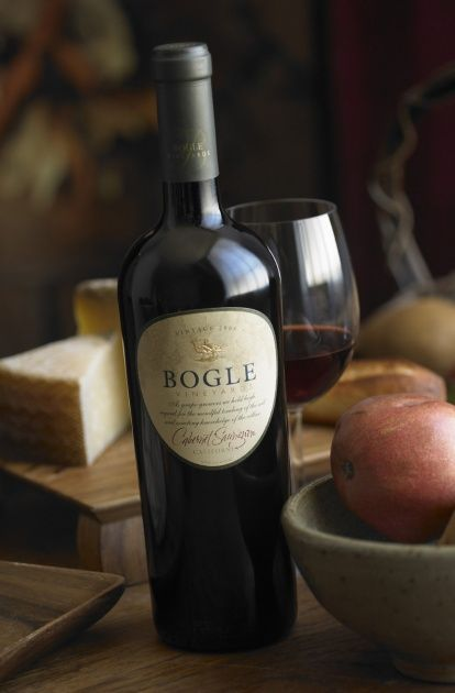 Bogle wine!  Another bottle of wine I enjoy!  The long, cool growing season 2010 produced Merlot grapes unparalleled in quality. Full - bodied and big, the resulting wine resonates with bright cherry and dried herbs on the nose. Rich favors of black currants and a touch of summer fig combine with savory black pepper to create a wine mouth filling and tense, yet silky smooth and approachable.