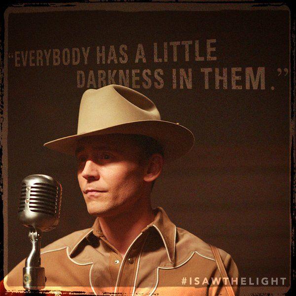 I Saw The Light On Twitter I Saw The Light Tom Hiddleston Hank Williams