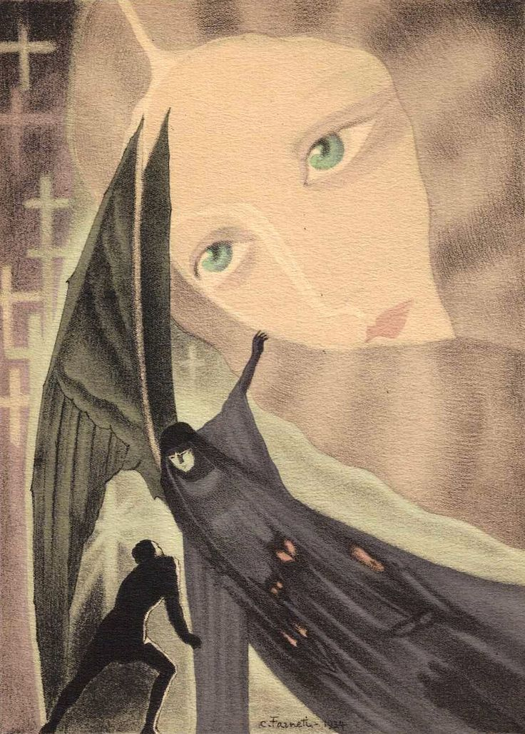 Les Fleurs du Mal par Charles Baudelaire; illustrations de Carlo Farneti. Gibert Jeune  Librairie d'Amateurs 61, Boulevard Saint-Michel, 61  Paris [France], 1935.