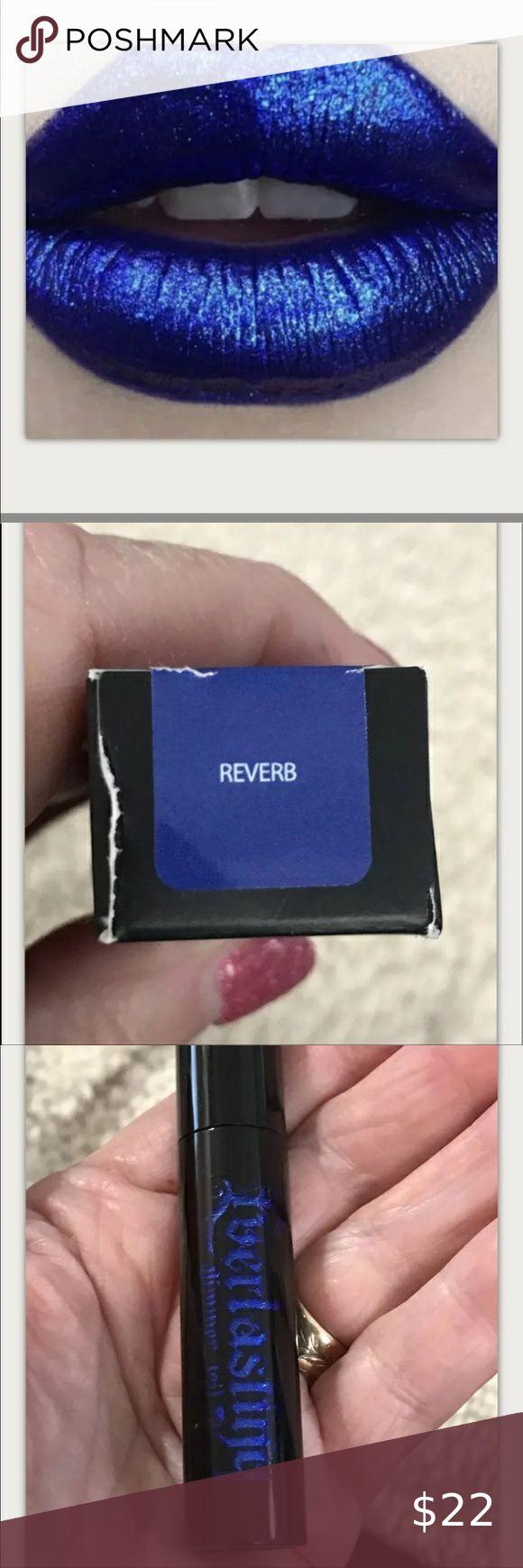 Reverb Cobalt Blue Kvd Glimmer Veil Lipstick Bnib Lipstick Brands Lipstick Cobalt Blue