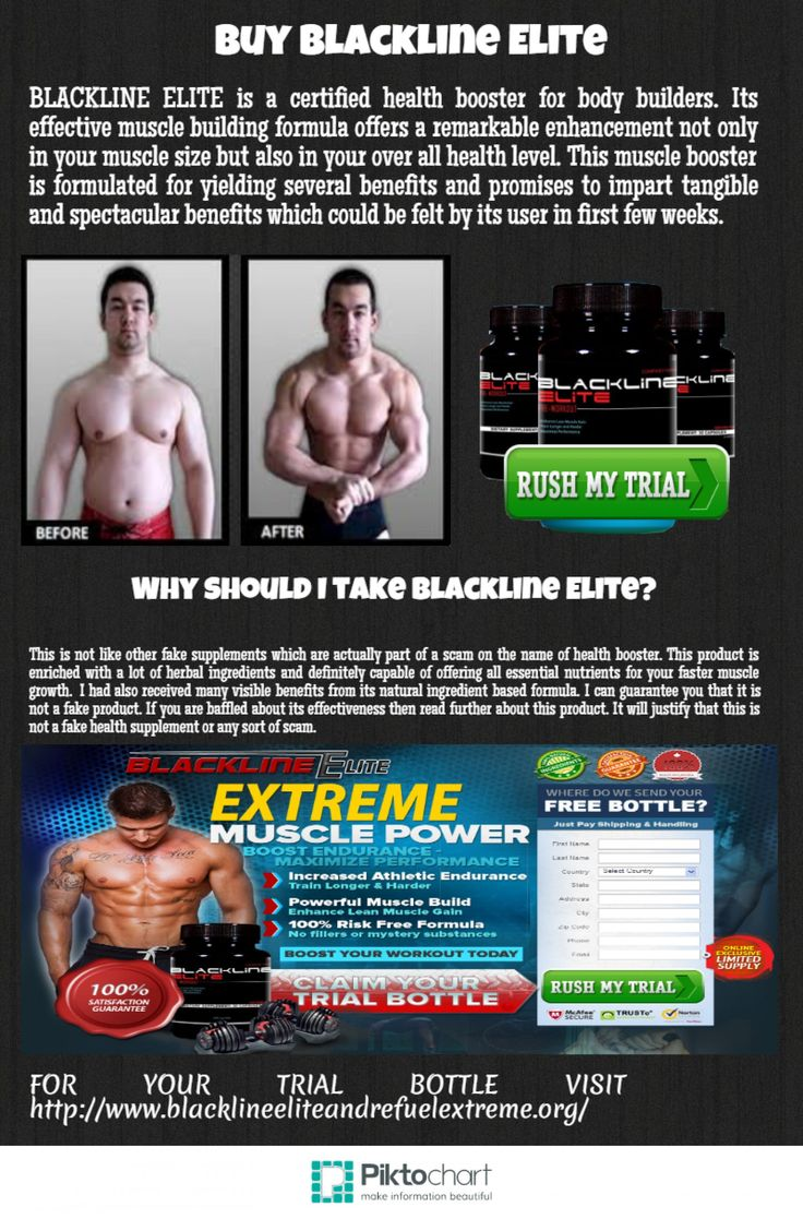 BLACKLINE ELITE is a certified health booster for body builders. Its effective muscle building formula offers a remarkable enhancement not only in your muscle size but also in your over all health level. This muscle booster is formulated for yielding several benefits and promises to impart tangible and spectacular benefits which could be felt by its user in first few weeks.