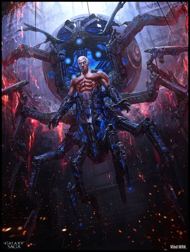 Baal the giant spider - advanced version by VladMRK on deviantART