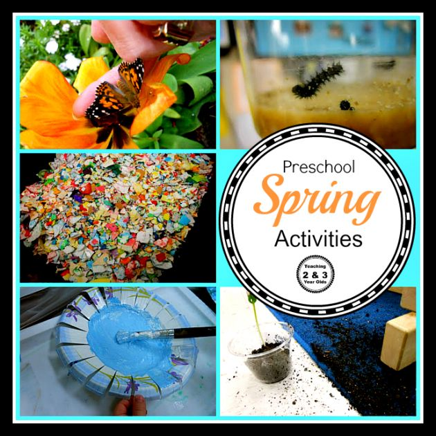 Spring Activities - Teaching 2 and 3 Year Olds