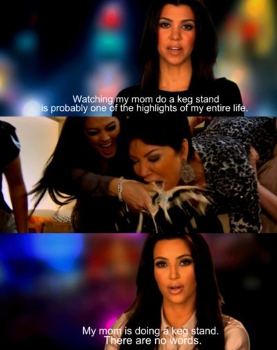 It's one of the highlights of Kourtney's life