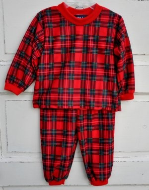 Boys Christmas Pajamas by Laura Dare12 Months to 8 YearsMatching Sister Pjs also available!