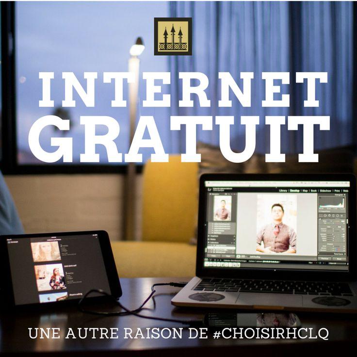 Internet Gratuit Free WIFI  Hotel Chateau Laurier Quebec