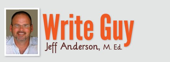 Jeff Anderson's website has lots of great resources for writing and the teaching of writing, including plenty of links to his own favorite go-to's!