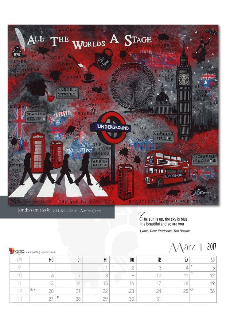kunst kalenderblatt m rz painting journeys nadia schreiner. Black Bedroom Furniture Sets. Home Design Ideas