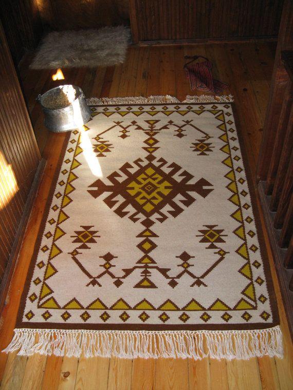 RUG alfombra de lana nueva hecha a mano modelo hecho por Limbhad, €350.00
