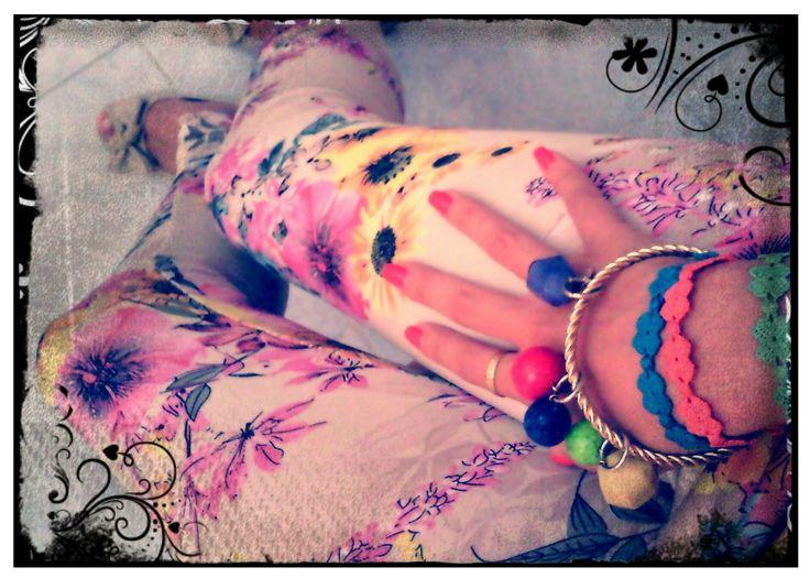 Bianca indossa un bracciale Paviè  #bijoux #summer #contest