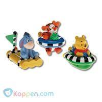 Fisher Price Pooh-figuren voor in bad, opdraai -  Koppen.com