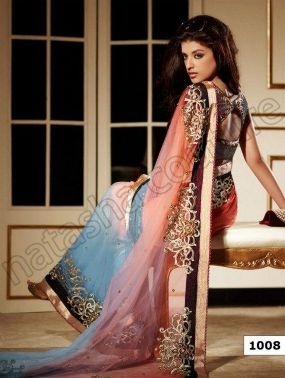 Natasha Couture New Sarees Collection 2013 For Women (7)