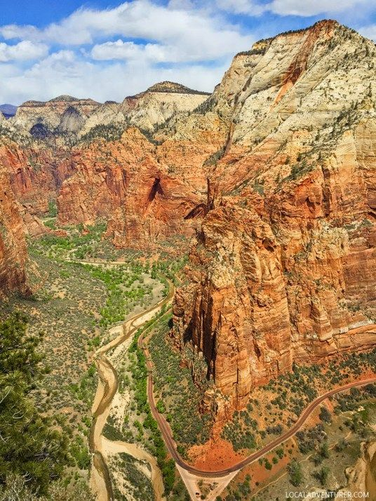 Angels Landing Hike (15 Best Hikes in Zion National Park).