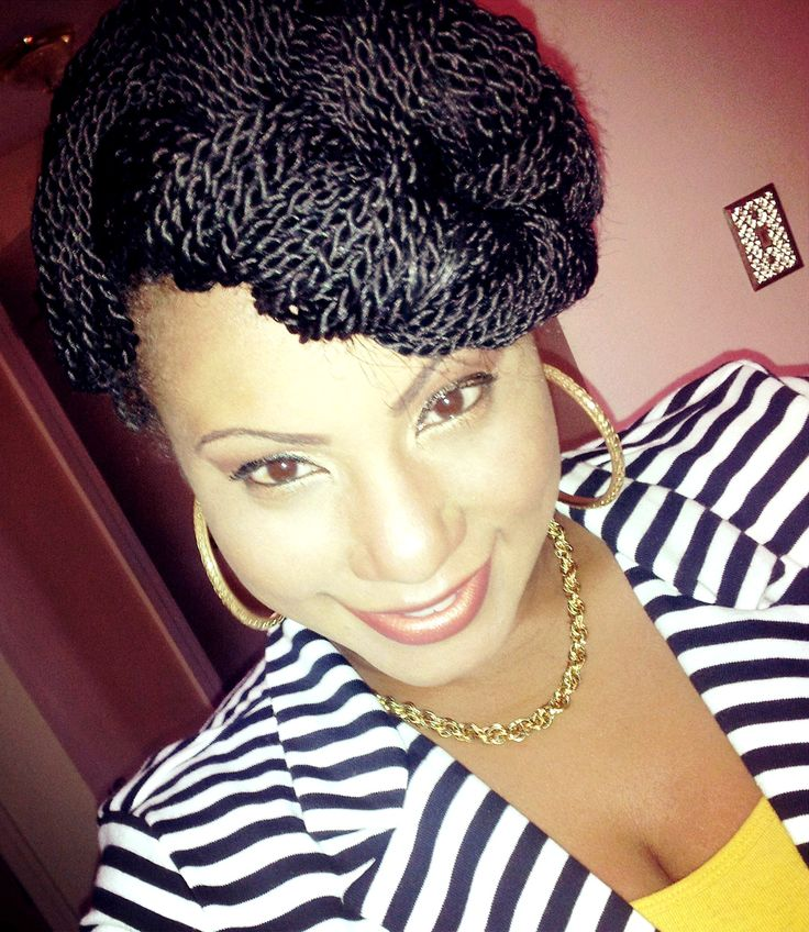 Stupendous Senegalese Twists Twists And Style On Pinterest Short Hairstyles Gunalazisus