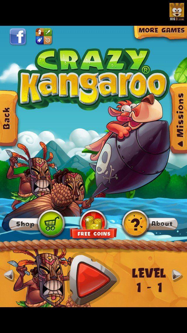 "Mobile game interface design ""Crazy Kang Jialuo"" GUI_ ..."