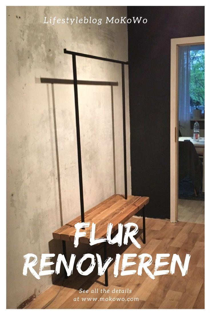 wohnblog einen schmalen flur farblich gestalten interior i design i homedesign i decoration. Black Bedroom Furniture Sets. Home Design Ideas