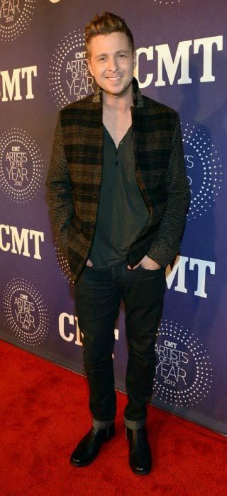 Ryan Tedder at the CMT Artists Of The Year in December 2012...