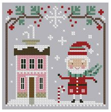 The Floss Box | Santa Claus is Coming Cross Stitch