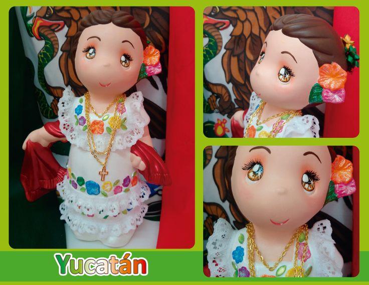 Traje típico de Yucatán - Yucatán regional costume