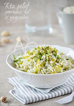 Adepte de la cuisson pilaf de céréales en, général, cette méthode de cuisson permet d'obtenir un riz très parfumé, et cette version nous a beaucoup plu.